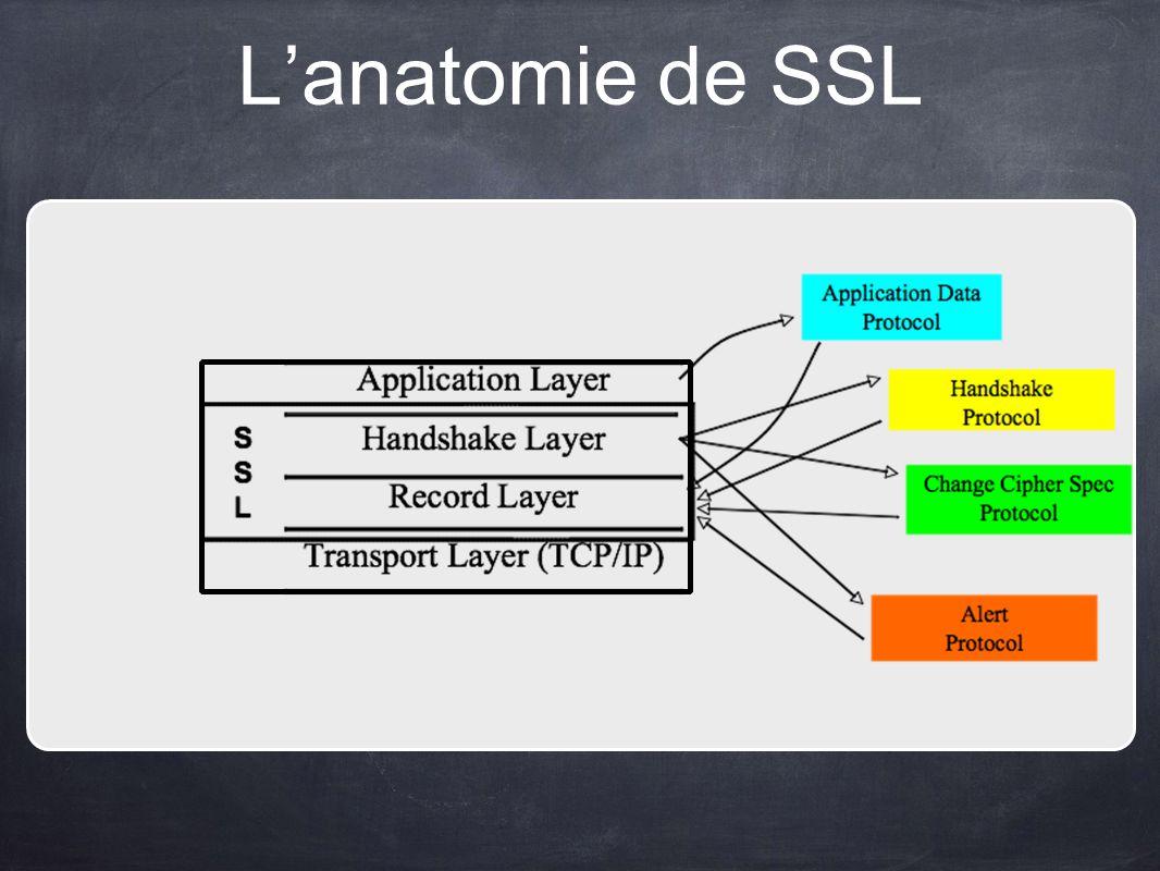Lanatomie de SSL