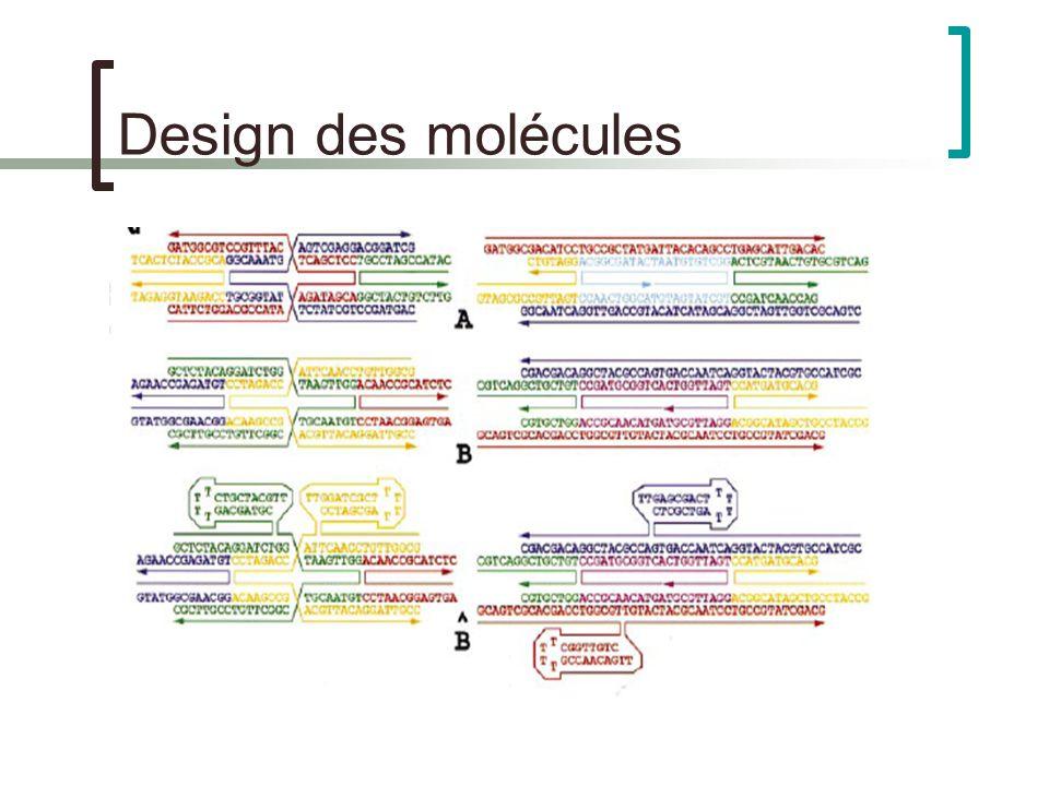 Design des molécules