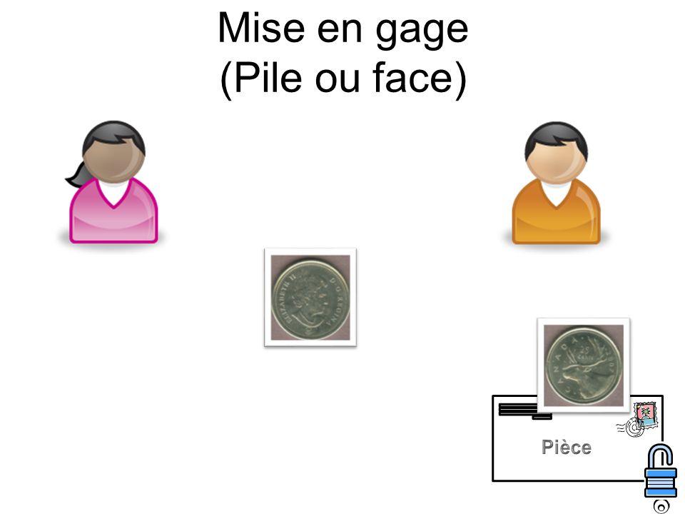 Mise en gage (Pile ou face)