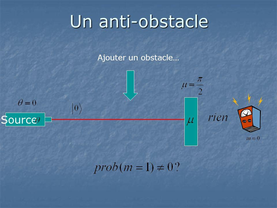 Un anti-obstacle Source Ajouter un obstacle…