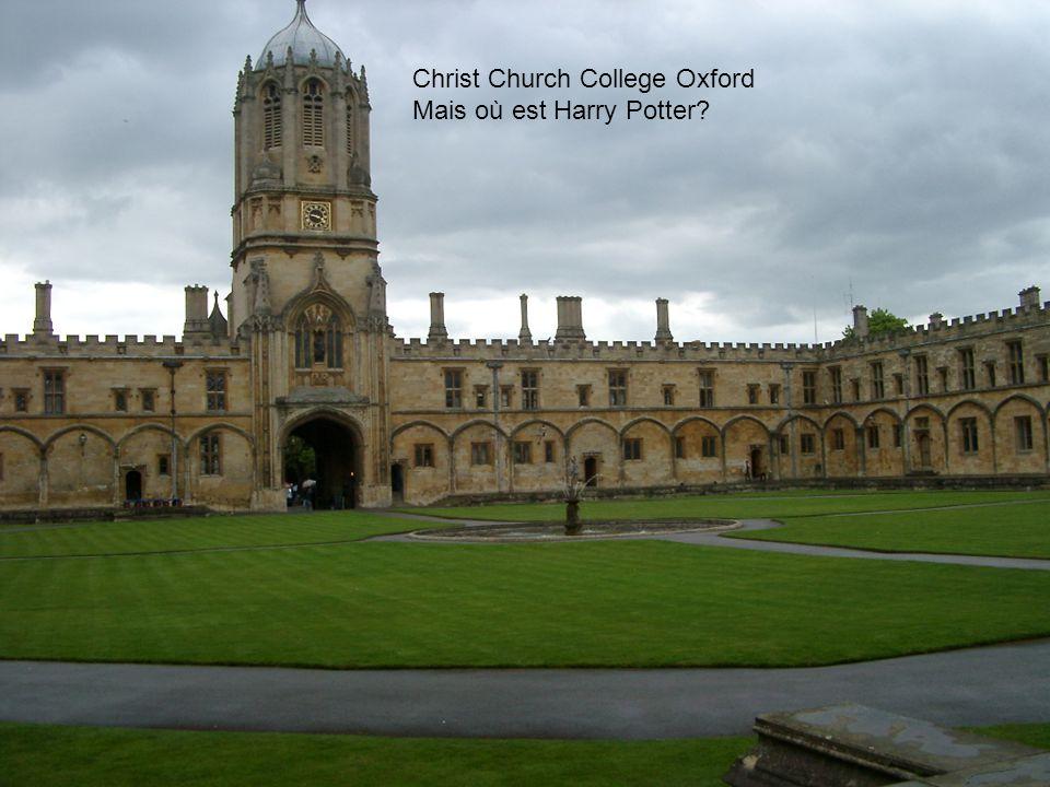 Christ Church College Oxford Mais où est Harry Potter?