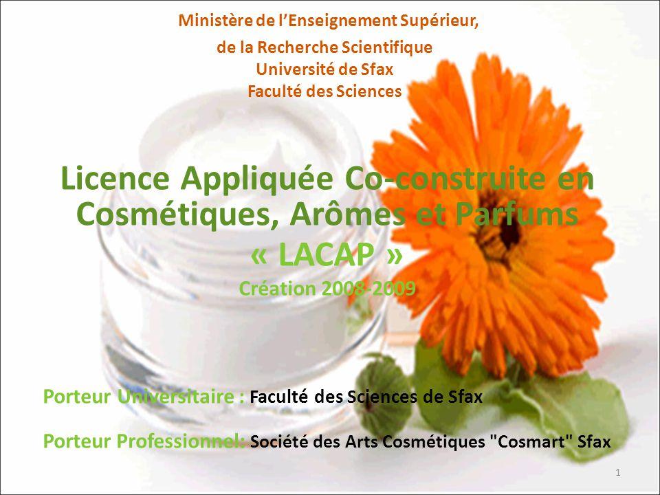 Partenaires Universitaires Faculté des Sciences de Sfax.