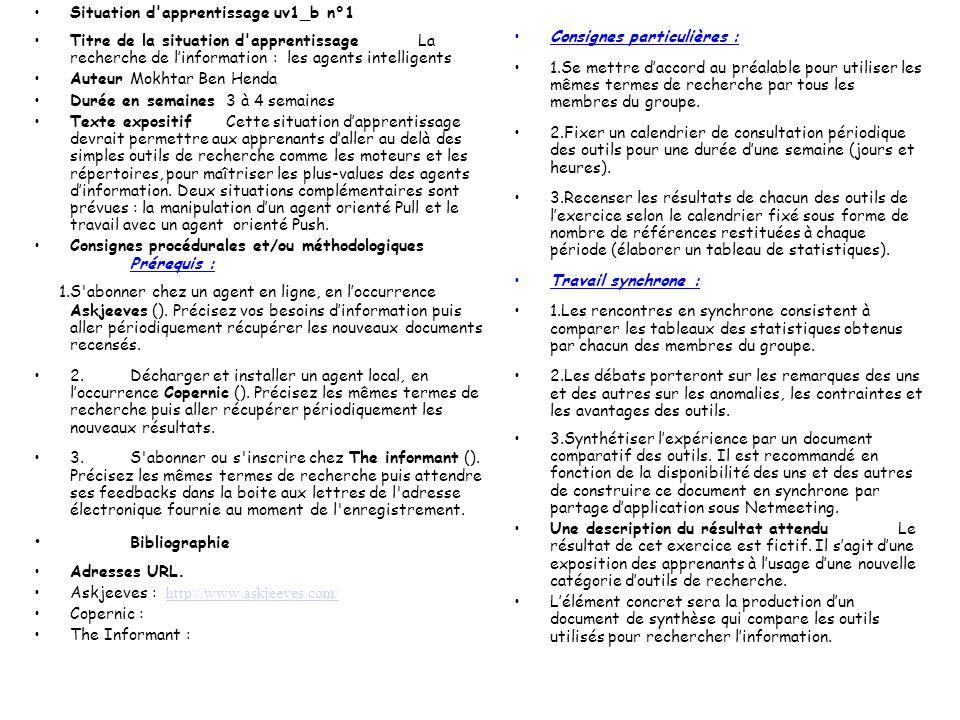 Travail à partir de situation-problème une situation - problème est définie par les éléments suivants : –Un ensemble de documents (textes images sons)