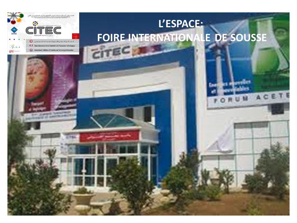 LESPACE: FOIRE INTERNATIONALE DE SOUSSE