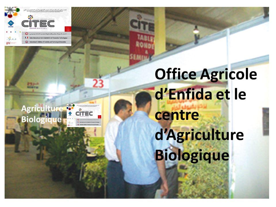 Agriculture Biologique Office Agricole dEnfida et le centre dAgriculture Biologique