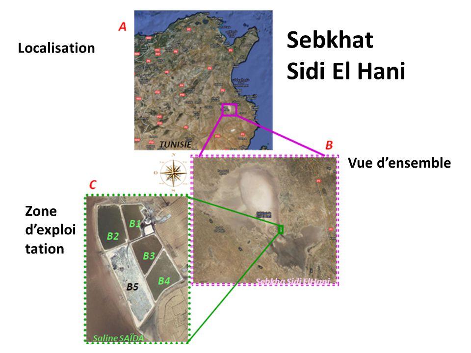 Sebkhat Sidi El Hani Localisation Vue densemble Zone dexploi tation