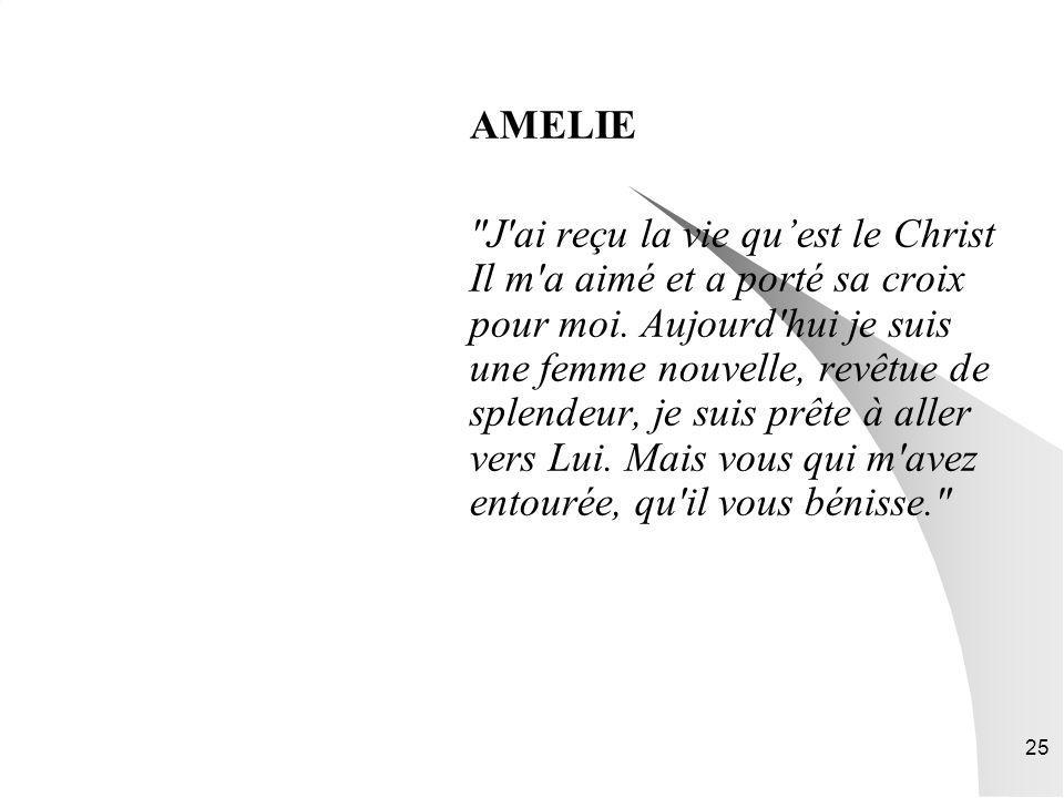 25 AMELIE
