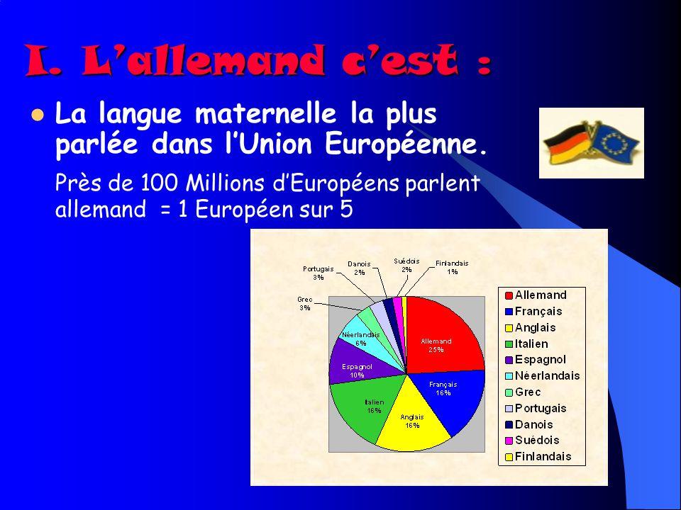 Quelle langue choisir en 4ème ? Et pourquoi pas lAllemand ?