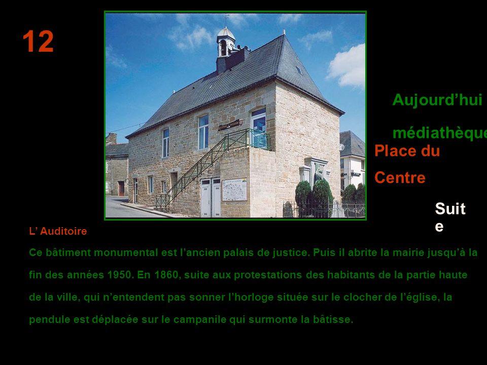 La maison natale de BISSON - 11 Maison construite à l'emplacement de la maison natale de Hippolyte Magloire BISSON, célèbre marin guémenois. Une plaqu