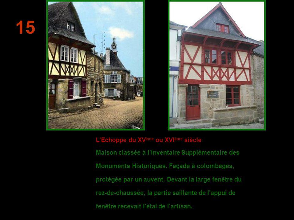 Les Trois Marchands Une des plus anciennes tavernes de Bretagne, connue sous le même nom depuis 1648.