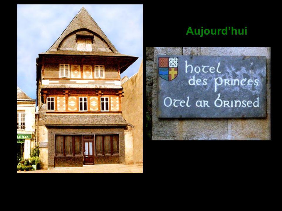 L ancien Hôtel particulier des Princes - Ils y recevaient, dit-on, leurs hôtes de marque. Il fut transformé ultérieurement en hostellerie où pendait l