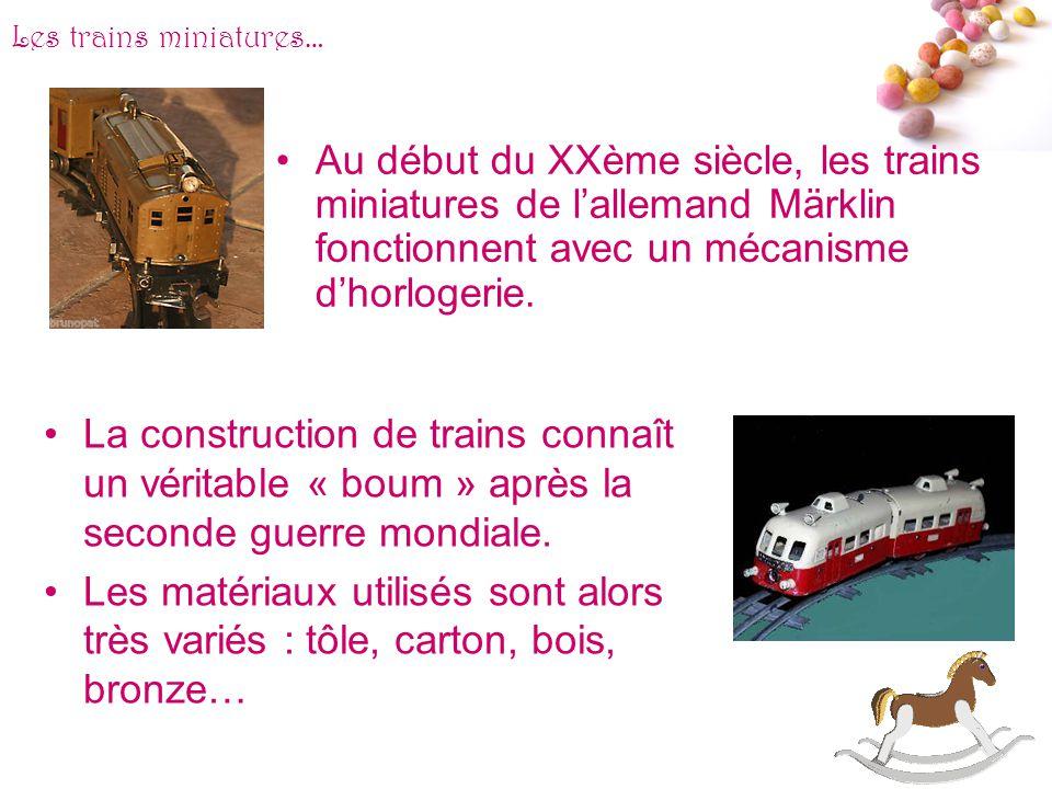 # Les trains miniatures