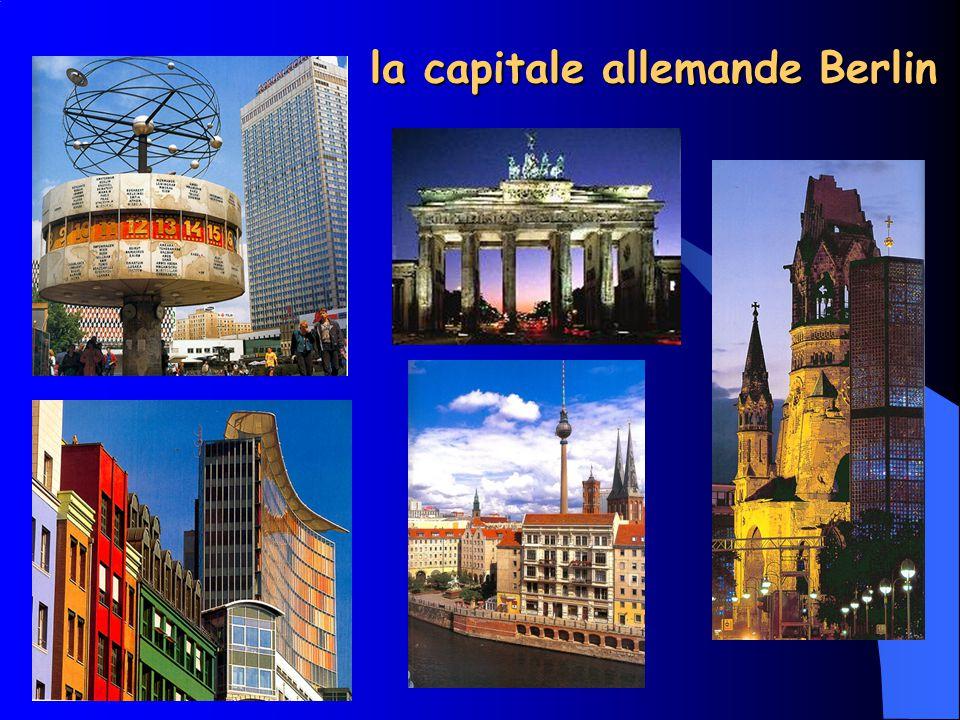 la capitale allemande Berlin