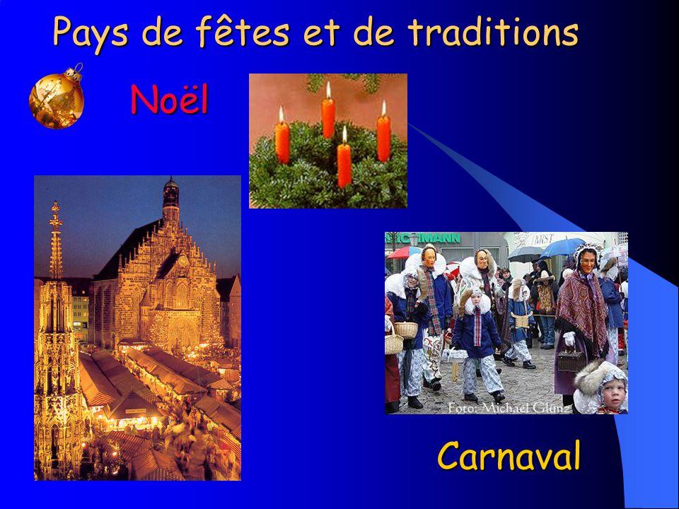 Noël Pays de fêtes et de traditions Carnaval