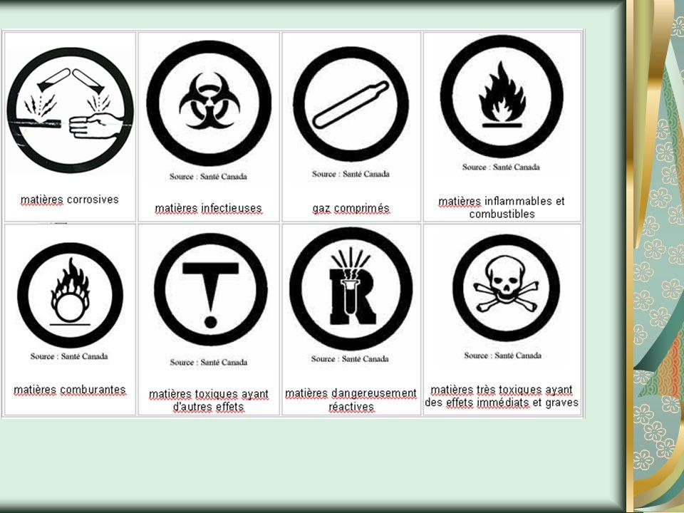 SIMDUT Le Système d information sur les matières dangereuses utilisées au travail -Étant donné que les produits chimiques affichent toutes sortes de propriétés et qu ils sont potentiellement dangereux, il est important de pouvoir les classifier et de mettre en garde les personnes qui les manipulent contre ces dangers afin d éviter de sérieux accidents.