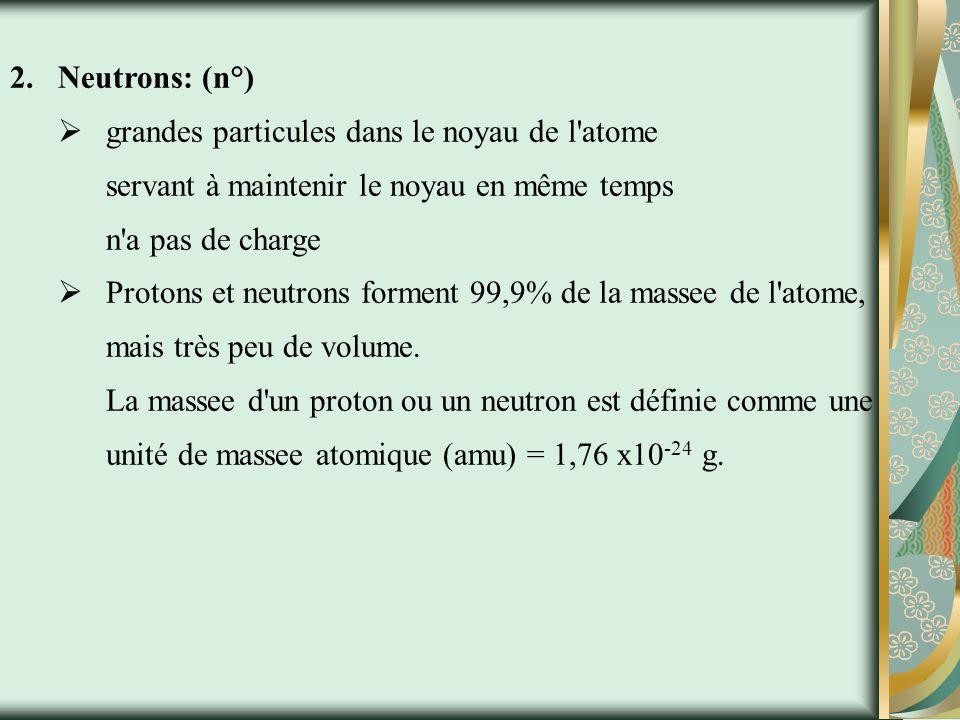 Structure Atomique Atome: la plus petite partie d un élément qui conserve les propriétés chimiques et physiques d un élément.