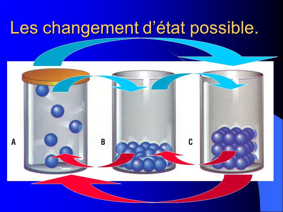 Toute matière est formée dinfimes particules. Toute substance pure est faite dun type particulier de particules, différentes des particules dun autre