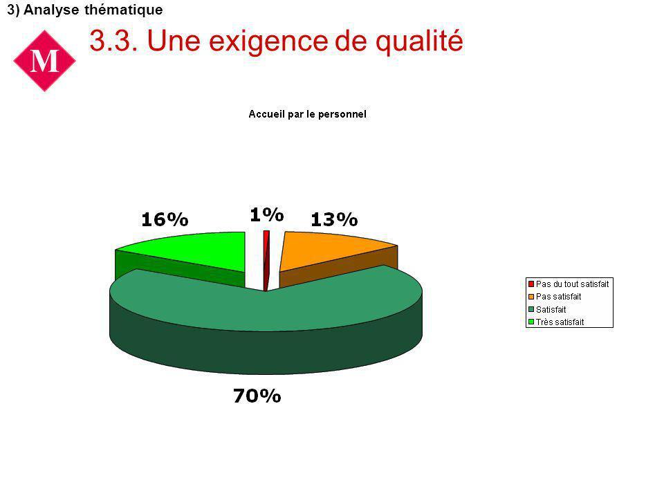 3.3. Une exigence de qualité 3) Analyse thématique