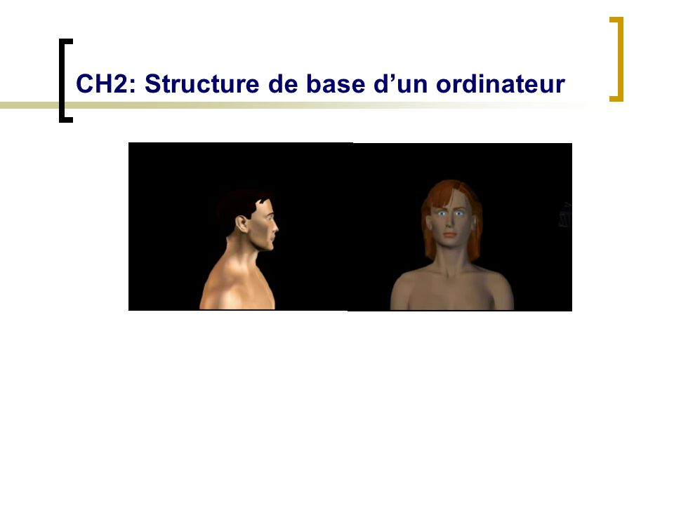 CH2: Structure de base dun ordinateur