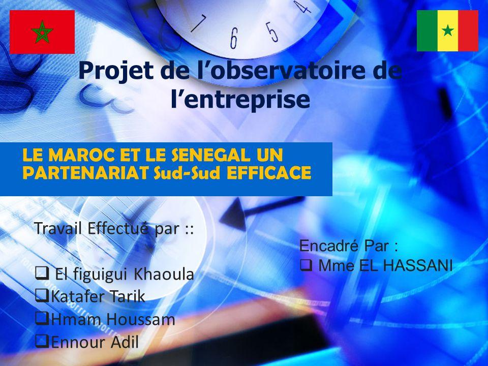Plan I.Présentation du SENEGAL - caractéristique du pays : Organisation de lespace Démographie II.