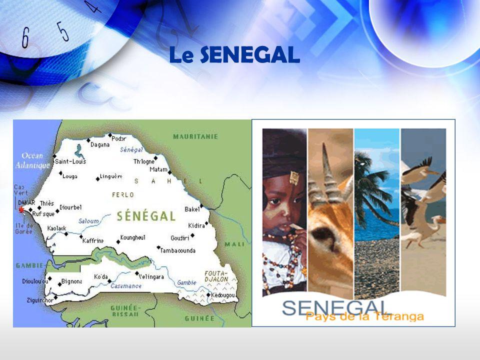 Le SENEGAL