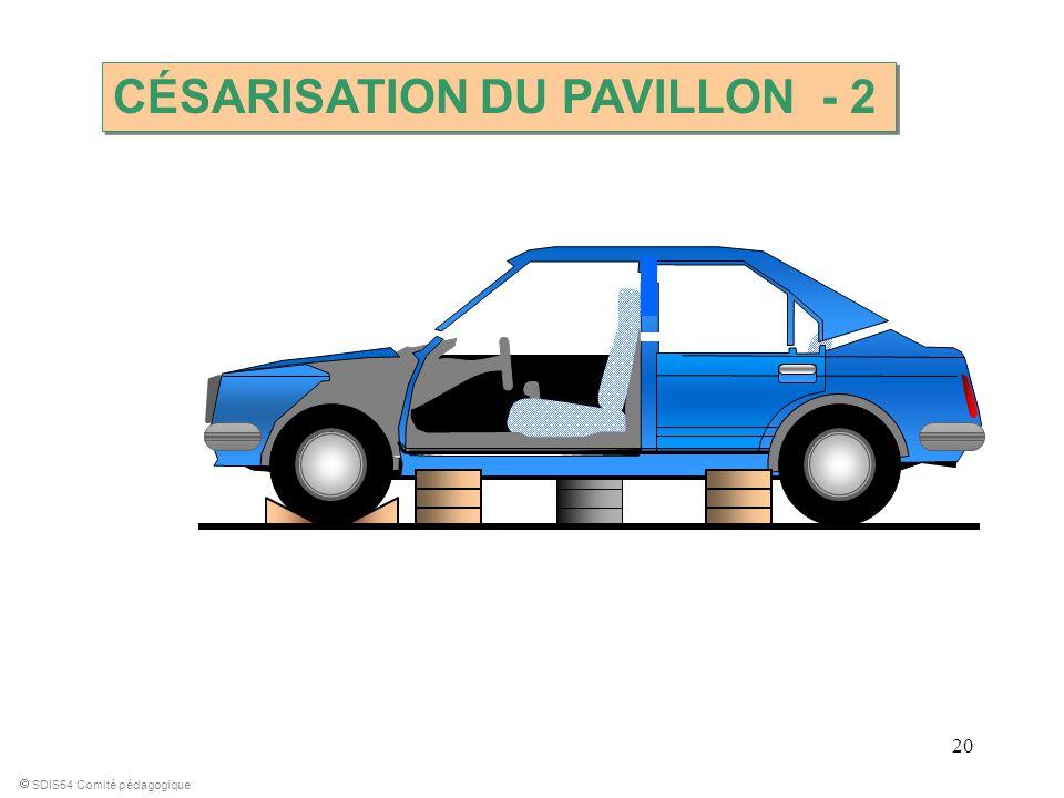 20 SDIS54 Comité pédagogique CÉSARISATION DU PAVILLON - 2