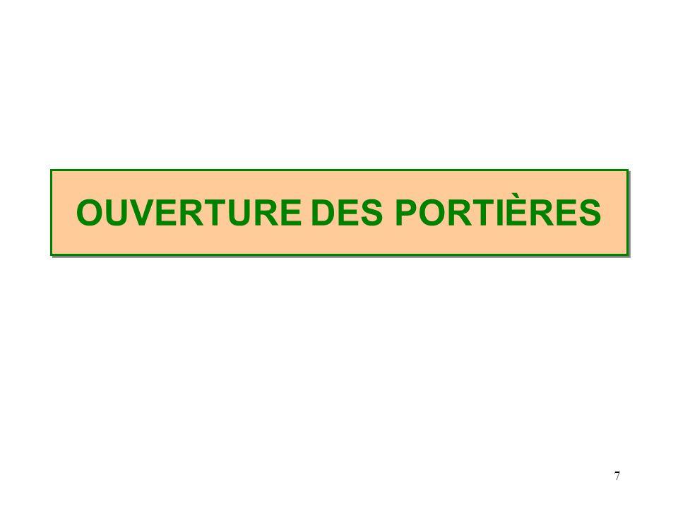 8 OUVERTURE DES PORTIERES 1. ÉCRASER LA TÔLE AU NIVEAU DE LAILE AVANT SDIS54 Comité pédagogique - 1