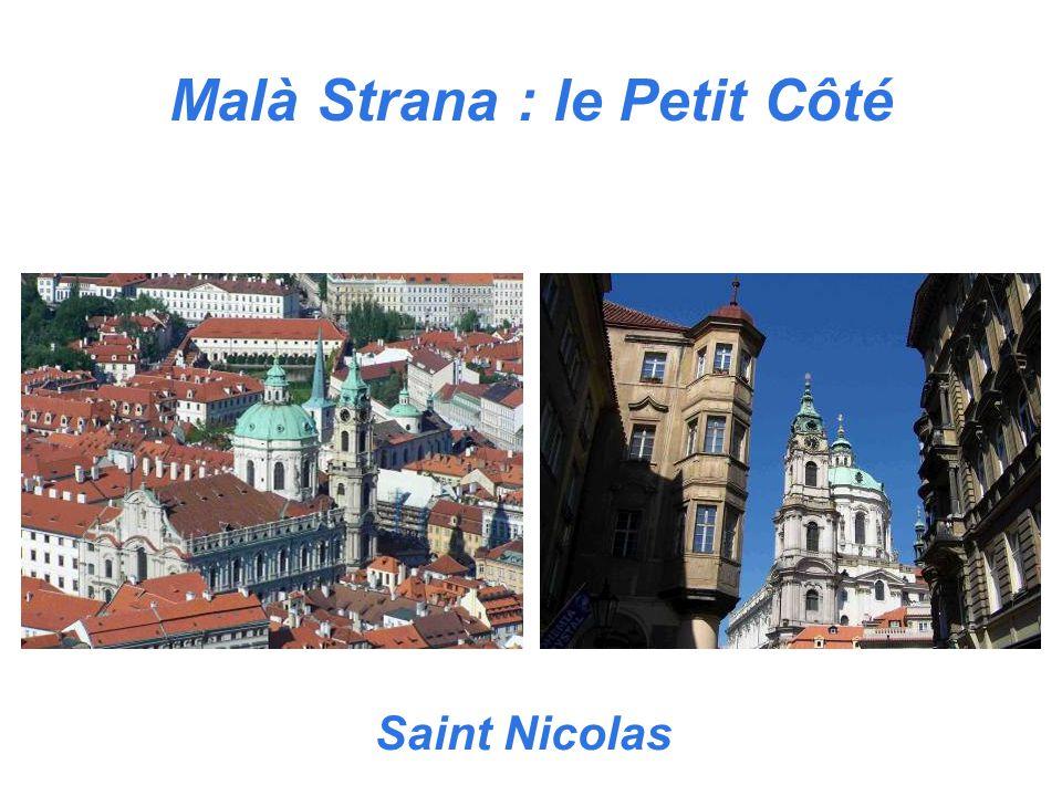 Malà Strana : le Petit Côté Saint Nicolas