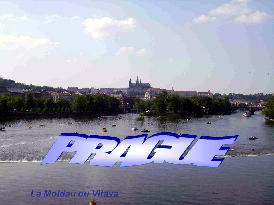 La Moldau ou Vltava
