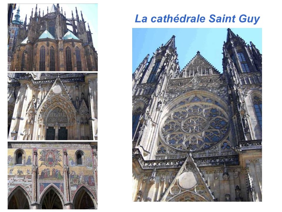 La cathédrale Saint Guy