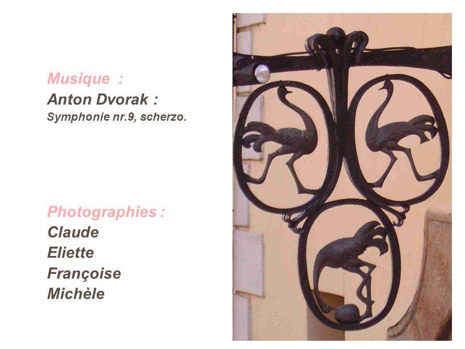 Musique : Anton Dvorak : Symphonie nr.9, scherzo. Photographies : Claude Eliette Françoise Michèle