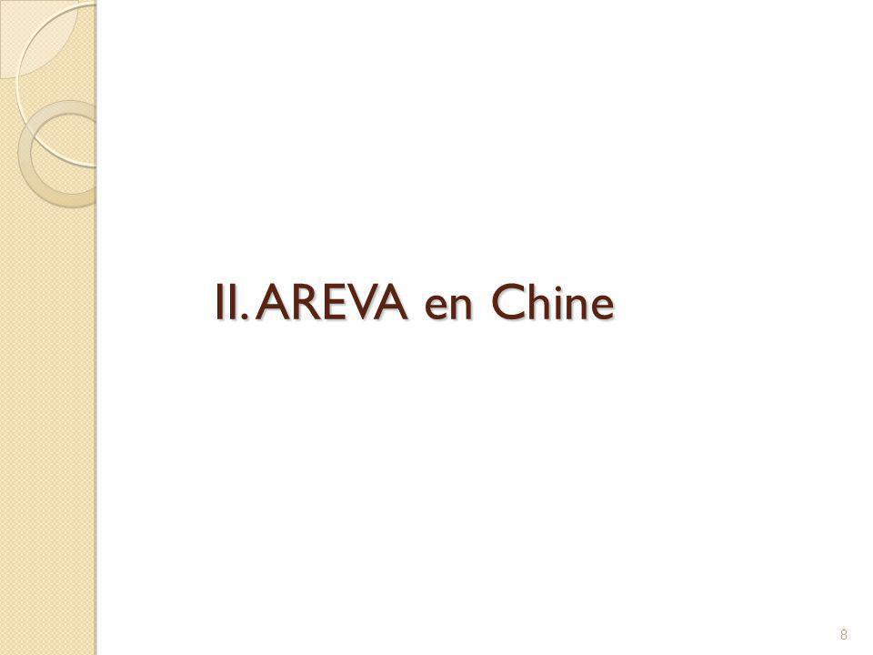 II. AREVA en Chine 8
