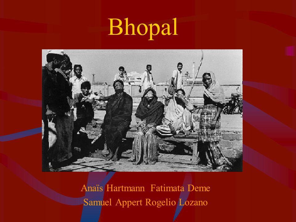 Bhopal Anaïs Hartmann Fatimata Deme Samuel Appert Rogelio Lozano