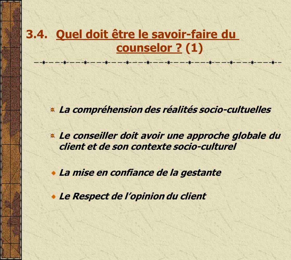3.3.Quels sont les aptitudes du conseiller .