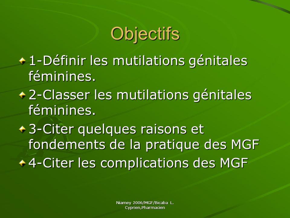 Niamey 2006/MGF/Bicaba L.Cyprien,Pharmacien IV.