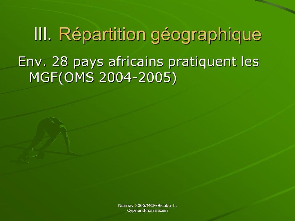 Niamey 2006/MGF/Bicaba L.Cyprien,Pharmacien VI.