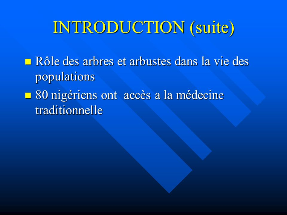 INTRODUCTION Le Paludisme est une affection parasitaire Le Paludisme est une affection parasitaire 2,5 a 3 M de décès de part le monde;1M pour l Afriq