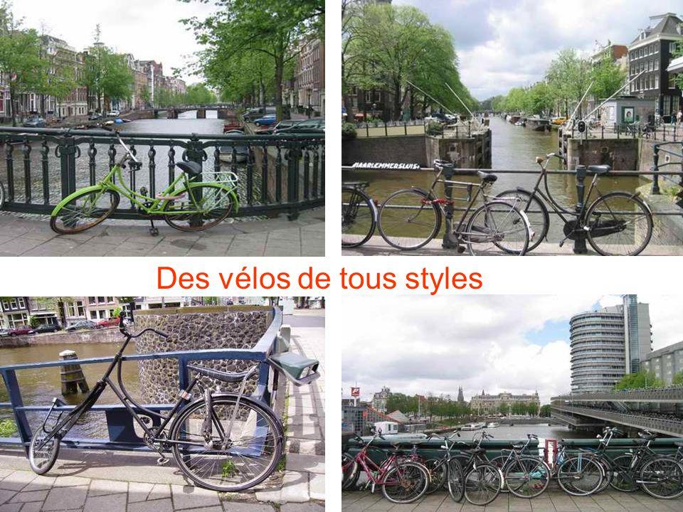 Des vélos de tous styles