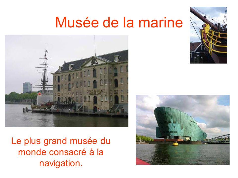 Musée de la marine Le plus grand musée du monde consacré à la navigation.