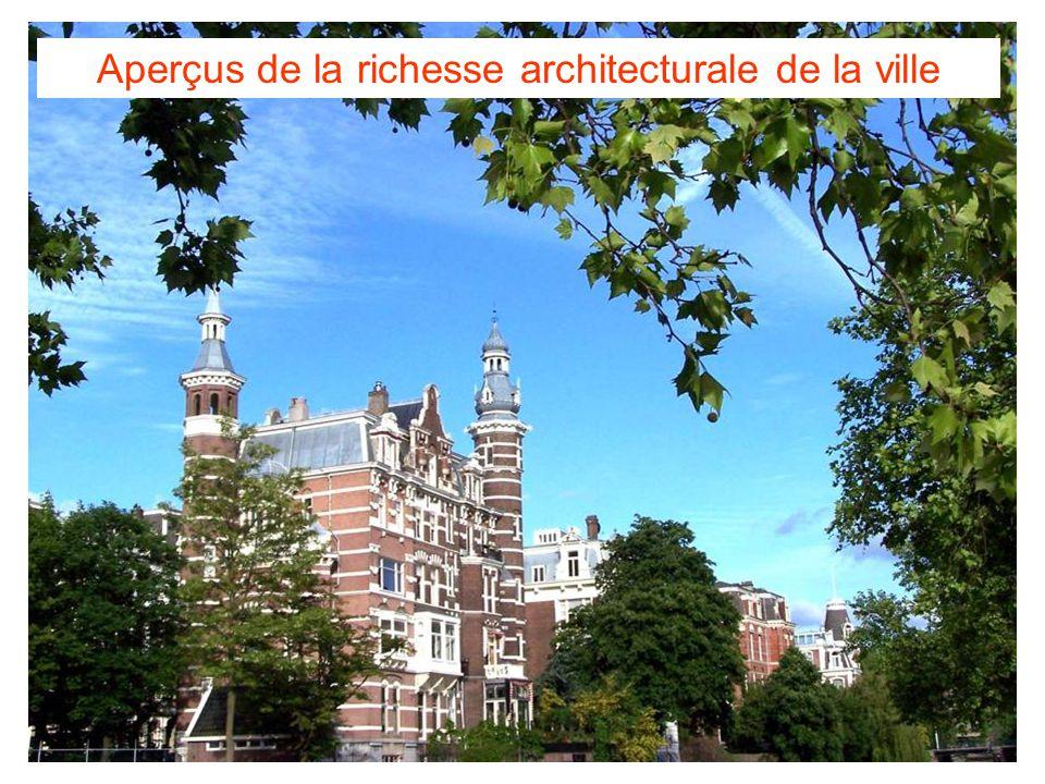 Aperçus de la richesse architecturale de la ville