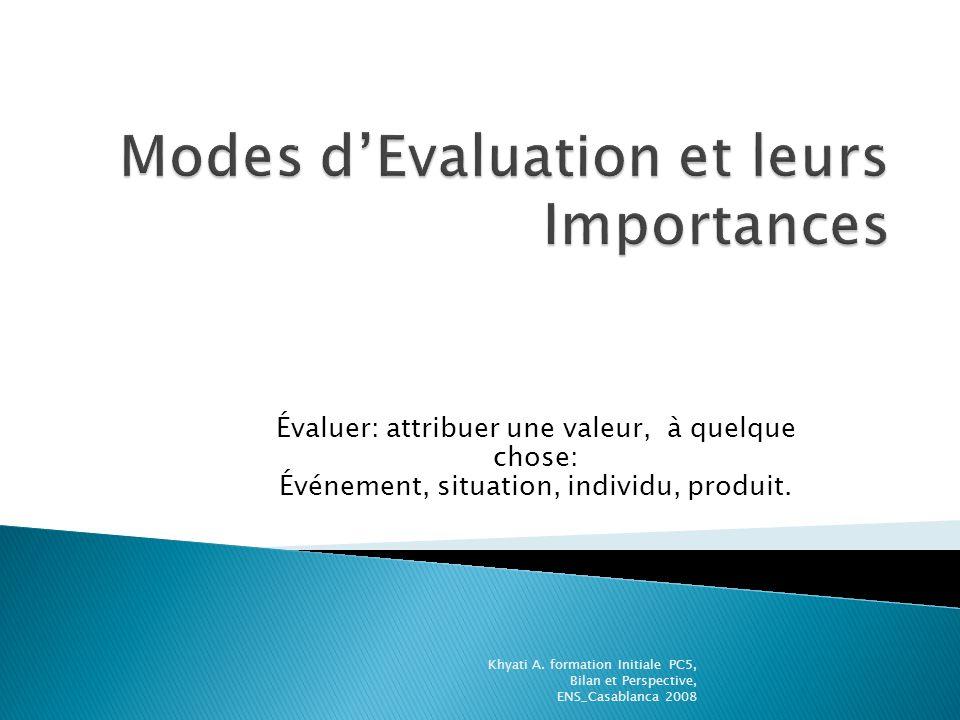 Évaluer: attribuer une valeur, à quelque chose: Événement, situation, individu, produit.