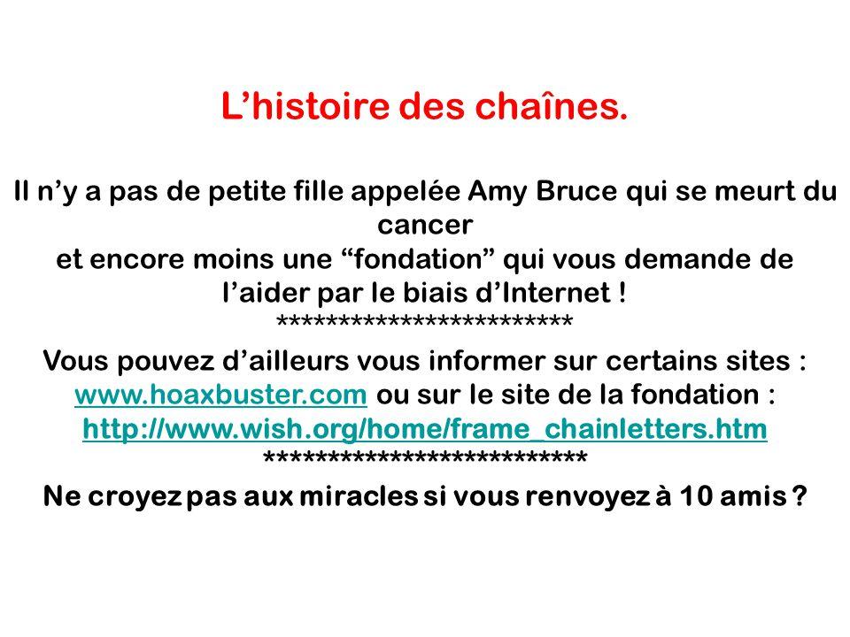 … et les emails pour sauver un enfant du cancer .