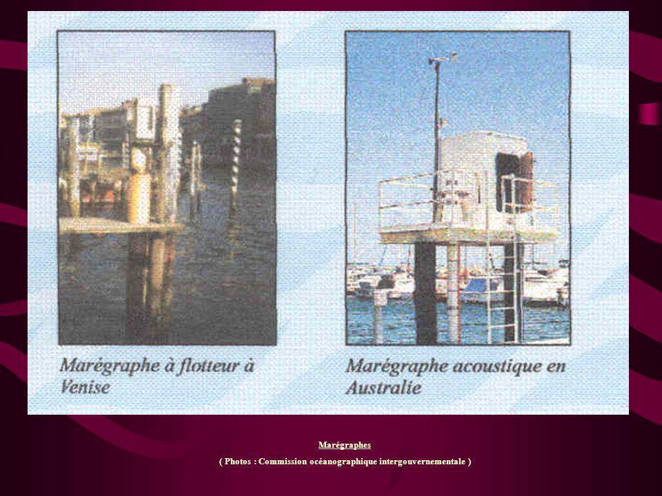Marégraphes ( Photos : Commission océanographique intergouvernementale )