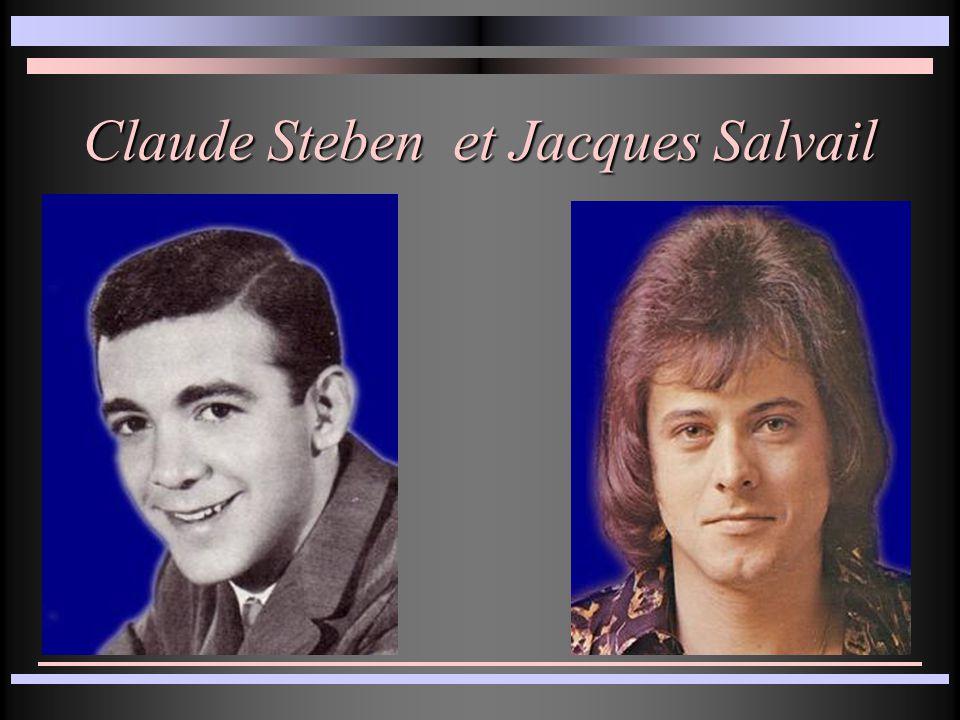 Claude Steben et Jacques Salvail