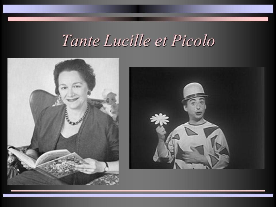 Tante Lucille et Picolo