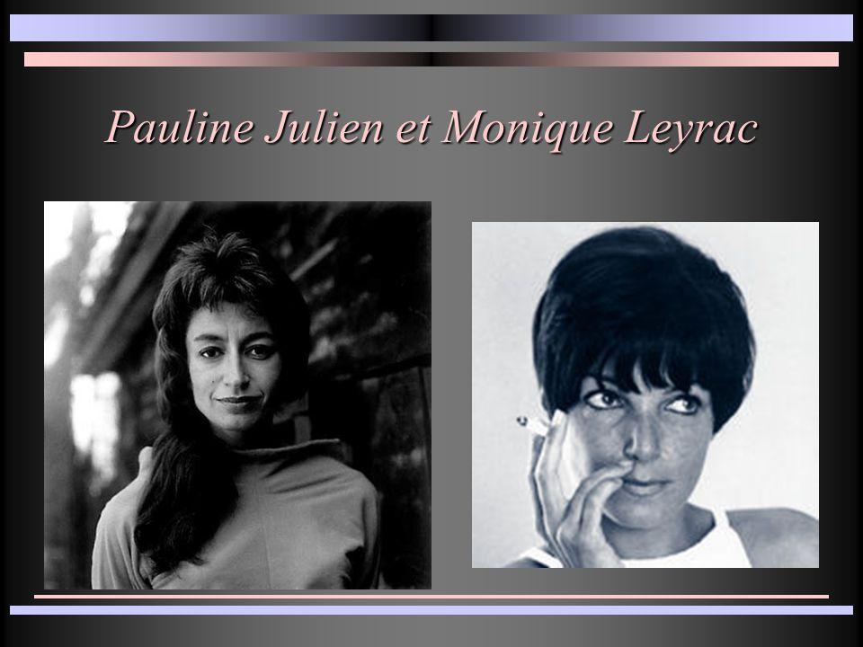 Pauline Julien et Monique Leyrac