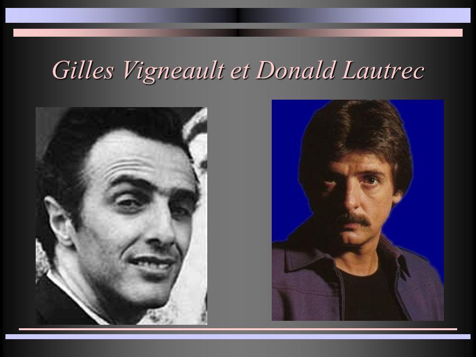 Gilles Vigneault et Donald Lautrec