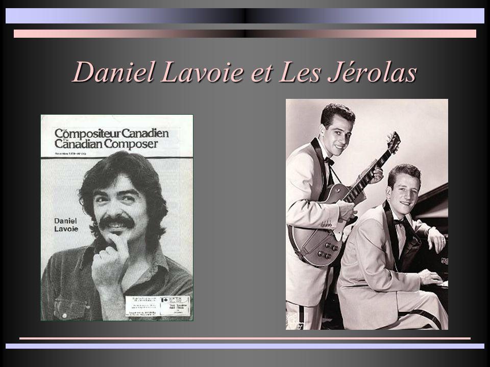 Daniel Lavoie et Les Jérolas