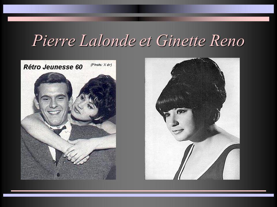 Pierre Lalonde et Ginette Reno