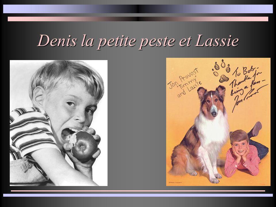 Denis la petite peste et Lassie